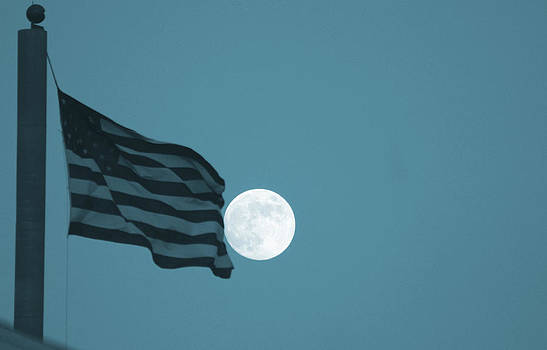 Full Moon Freedom by April Wietrecki Green