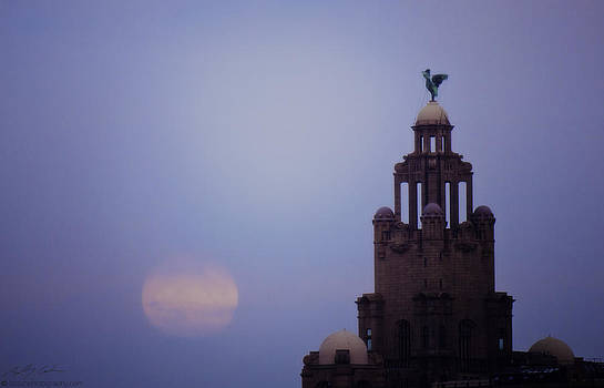Full Moon in Liverpool by Beverly Cash