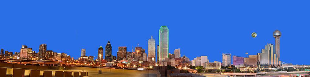 Full Moon Over Dallas by Jim Martin