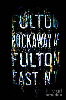 Fulton Subway Station-NYC by Nancy Harrison