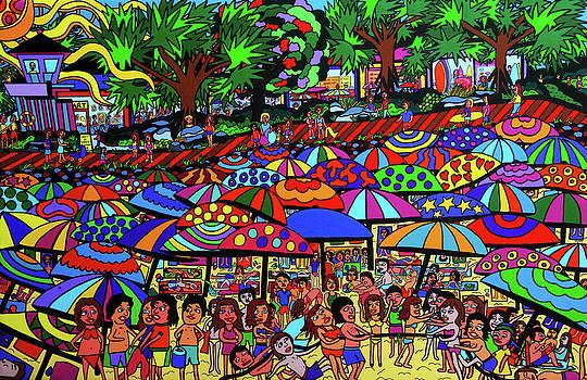 Fun Beach by Karen Elzinga