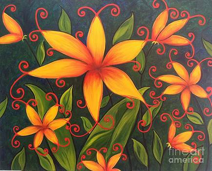 Fun Flowers by Vikki Angel