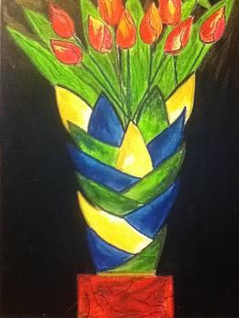 Fun with Tulips by Lewanda Laboy