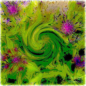 Funky Flowers by Deborah MacQuarrie-Selib