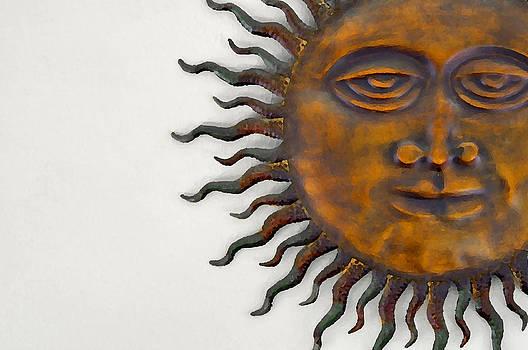 Rebecca Brittain - Funky Sunface Art