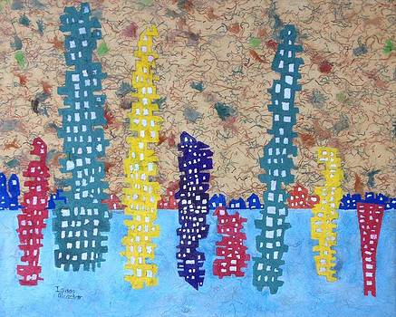Funky Town 7 by Isaac Alcantar