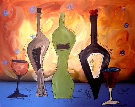 Funky Vino 14 by Gino Savarino