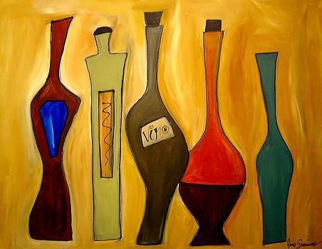 Funky Vino 9 by Gino Savarino