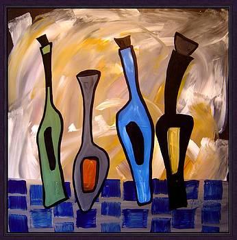 Funky wine 13 by Gino Savarino