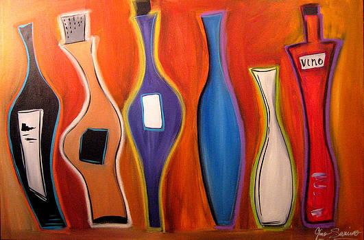 Funky Wine 14 by Gino Savarino