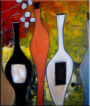 Funky Wine 7 by Gino Savarino