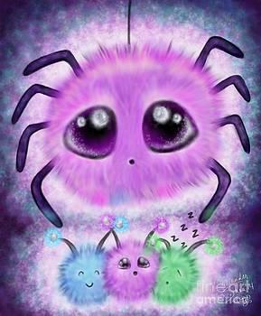 Fuzzy Spidder by Coriander  Shea