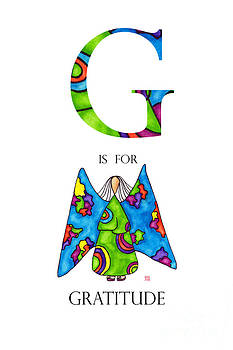 G is for Gratitude by Emily Lupita Studio