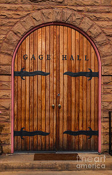 Dale Powell - Gage Hall Door