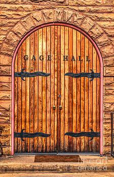 Dale Powell - Gage Hall Wood Door