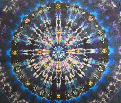 Galactic Kalaidascope by Courtenay Pollock
