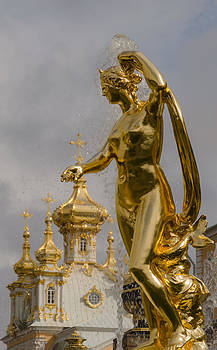 Galatea  Peterhof Grand Palace by Ludmila Nayvelt