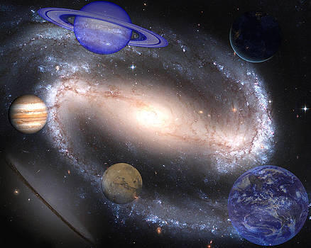 Galaxies and Planets by J D Owen