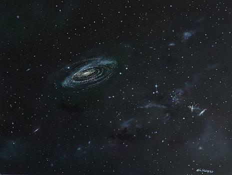 Galaxy by Ken Ahlering
