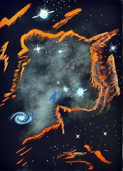 Galaxy by Syma Art