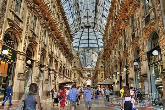 Ines Bolasini - Galleria Vittorio Emanuele II - Milan