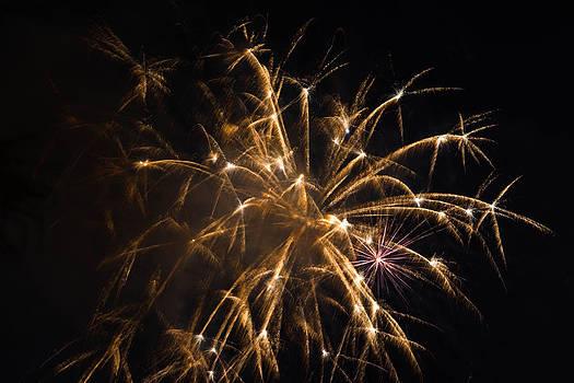 Galveston Fireworks by Jason Brow