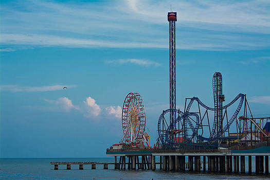 Galveston Pier by Jason Brow