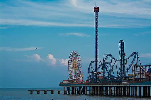Galveston Pier by Jason Brow