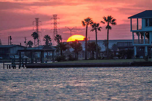 Galveston Sunset by Jason Brow