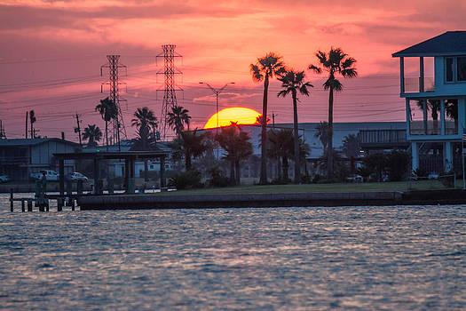 Galveston Sunset by Jason Brow