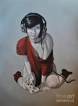 Gamer Girl by Joe Dragt