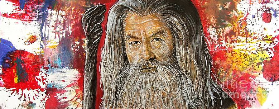 Gandalf by Anastasis  Anastasi