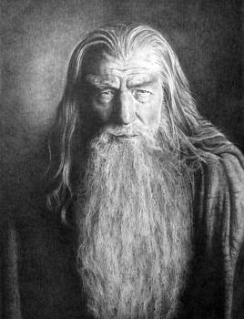 Gandalf the Grey by Steven Paul Carlson