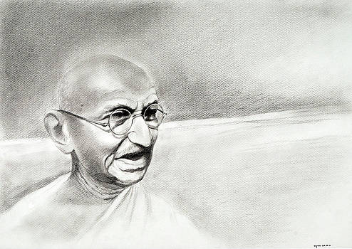 Gandhi by Ayan  Ghoshal