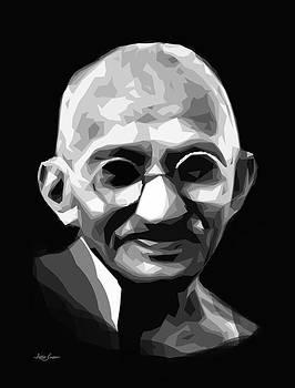 ARTIST SINGH - Gandhi by Artist Singh