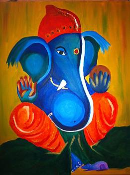 Ganesh  by Daxa Odedra