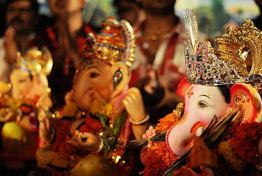 Ganesha Bokeh by Money Sharma