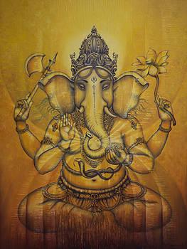 Vrindavan Das - Ganesha darshan
