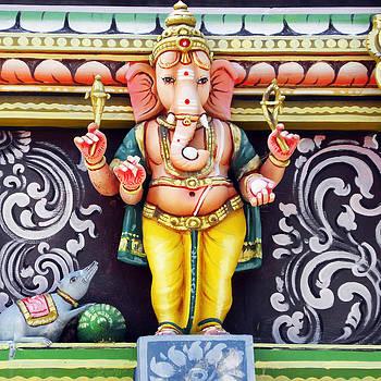 Ganesha Hindu God Statue by BluedarkArt Lem