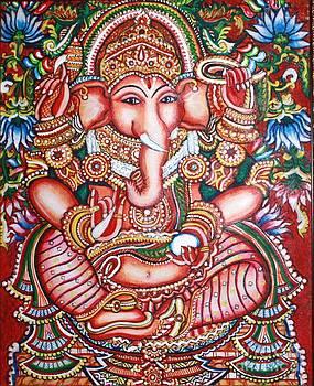 Ganesha by Kami