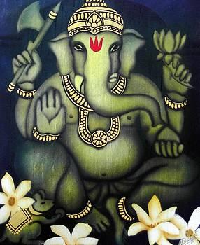 Ganesha by Vishwajyoti Mohrhoff