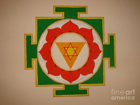 Ganesha Yantra by Christa Eppinghaus