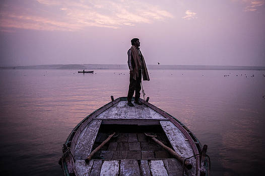 Ganges Boatman by James McRae