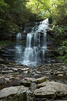 Gene Walls - Ganoga Falls As Summer Arrives