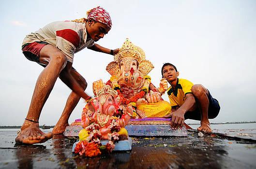 Ganpati Prccession by Money Sharma