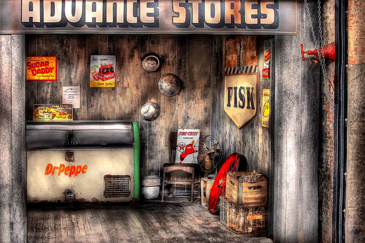Mike Savad - Garage - Advance Stores