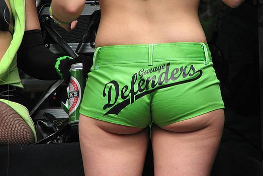 Garage Defenders by Arylana Art