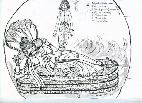 Garbodakasayi visnu by Parimala Devi Namasivayam