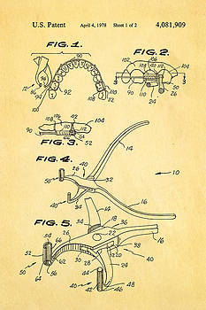 Ian Monk - Garcia Orthodontic Pliers Patent Art 1978