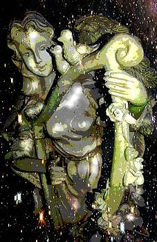Garden Angel by Terry Atkins